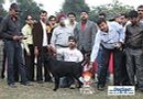 Kanpur Dog Show | 4th bis,ex-115,lab,lineup,sw-7,