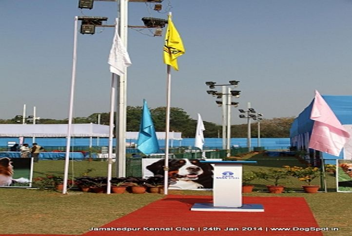 show ground,, Jamshedpur Obedience Dog Show 2014 , DogSpot.in