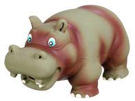 Trixie Hippo Original Animal Sound Latex Dog Toy - 17 cm