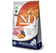 Farmina N&D Dry Dog Food Grain Free Pumpkin Lamb & Blueberry Puppy Medium & Maxi Breed - 2.5 Kg