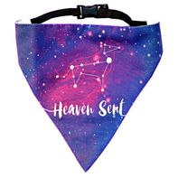 LANA Paws Astral, Heaven Sent Adjustable Bandana - Medium & Large