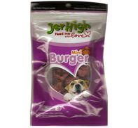Jerhigh Mini Burger Dog Treats - 100 gm