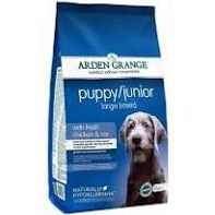 Arden Grange Puppy Junior Sensitive Food-12 Kg