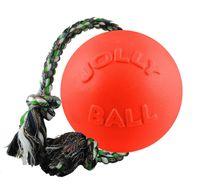 Jolly Pets Romp-n-Roll Ball Dog Toy Orange - 20.3 cm