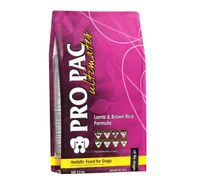PRO PAC Ultimates Lamb & Brown Rice Formula Dry Dog Food - 2.5 kg
