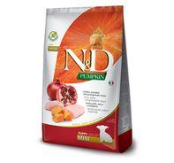 Farmina N&D Dry Dog Food Grain Free Pumpkin Chicken & Pomegranate Puppy Mini Breed - 800 gm