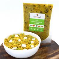 FurrMeals Fresh Cottage Cheese & Peas - 400 gm