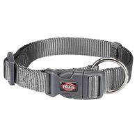 Trixie Premium Collar Graphite - Medium & Large