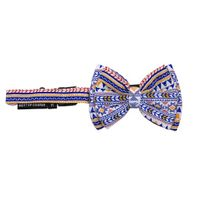 Mutt of Course Dog Bow Tie - Aztec