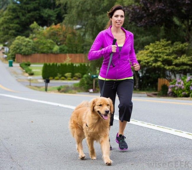 woman-jogging-with-dog