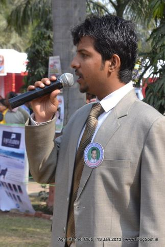 ring steward,sw-78,, 2013 Agra Dog Show, DogSpot.in