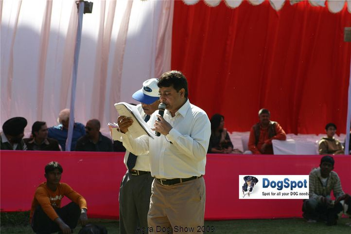 Ground,Ring Steward,, Agra Dog Show 2008-09, DogSpot.in