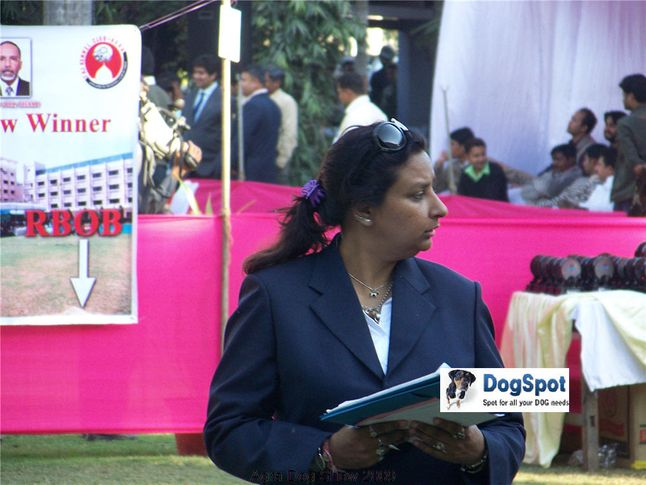 Ground,Ring Steward,, Agra Dog Show 2008-09, DogSpot.in