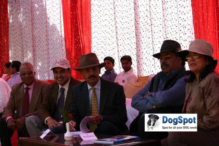 Judge,Ring Steward,, Agra Dog Show 2010, DogSpot.in