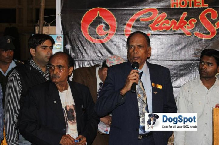 Judge,, Agra Dog Show 2010, DogSpot.in