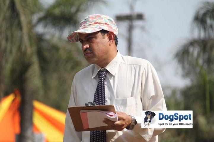 Ring Steward,, Agra Dog Show 2010, DogSpot.in