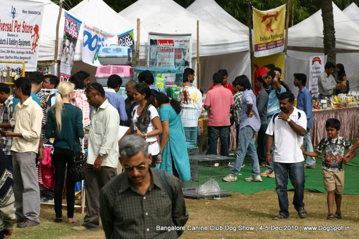 stalls,sw-12,, Bangalore 2010, DogSpot.in
