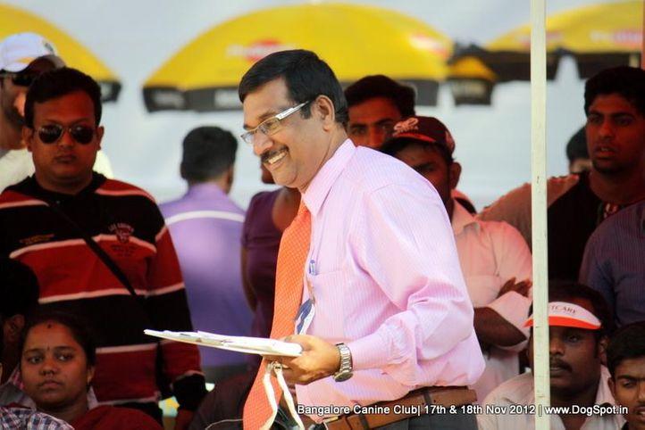 ring steward,sw-69,, Bangalore Dog Show 2012 , DogSpot.in
