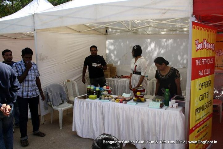 show stalls,sw-69,, Bangalore Dog Show 2012 , DogSpot.in