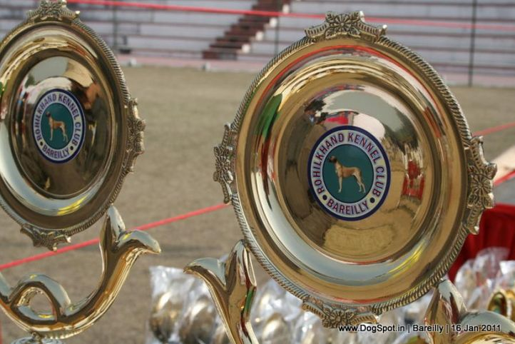 sw-14, ground,trophies,, Bareilly Dog Show 2011, DogSpot.in