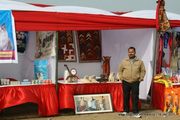 sw-14, ground,stalls,, Bareilly Dog Show 2011, DogSpot.in
