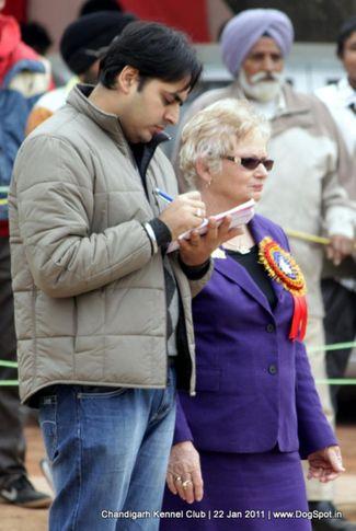 people,ring steward,sw-50,, Chandigarh 2012, DogSpot.in