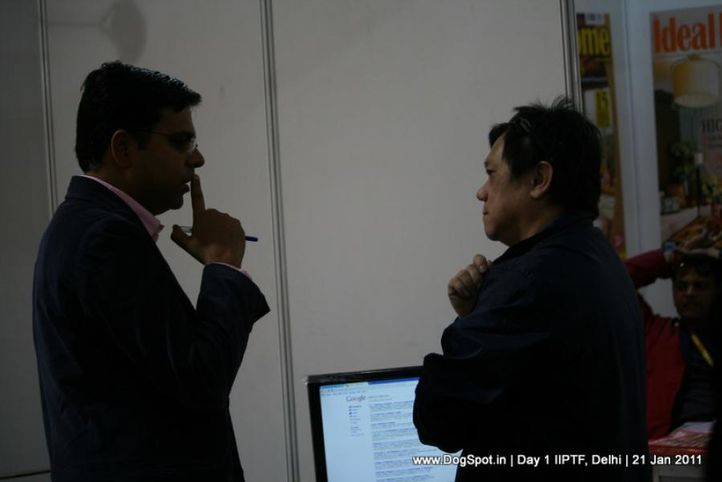 personal,, Day 1 IIPTF 2011, DogSpot.in