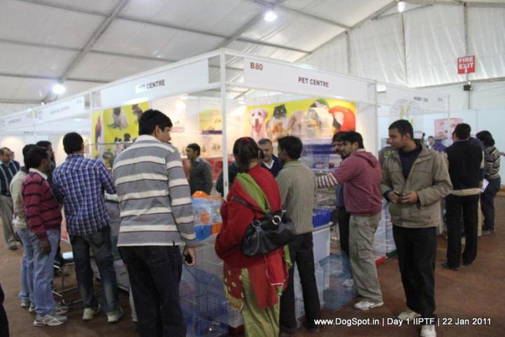 stalls,, Day 1 IIPTF 2011, DogSpot.in