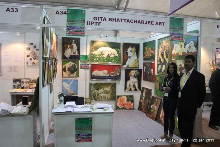paintings,stalls,, Day 1 IIPTF 2011, DogSpot.in
