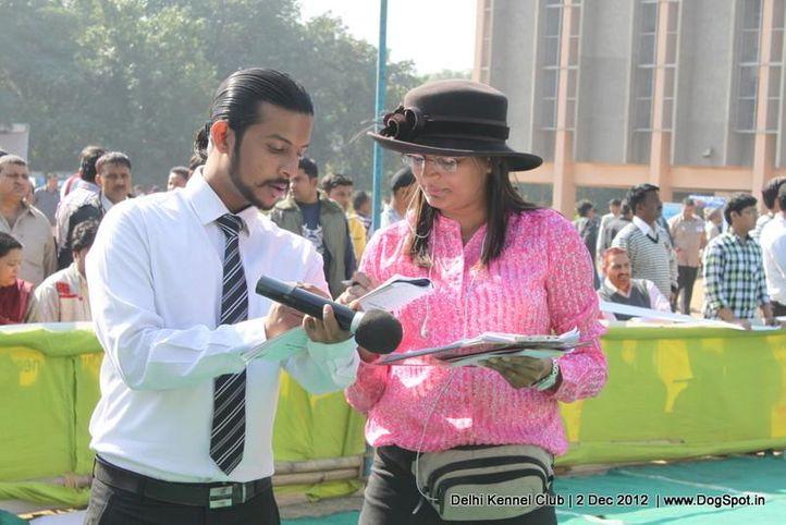 ring steward,sw-67,, Delhi Dog Show 2012, DogSpot.in