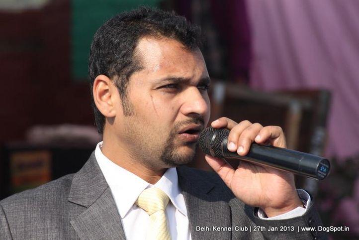 ring steward,sw-79,, Delhi Dog Show 2013, DogSpot.in