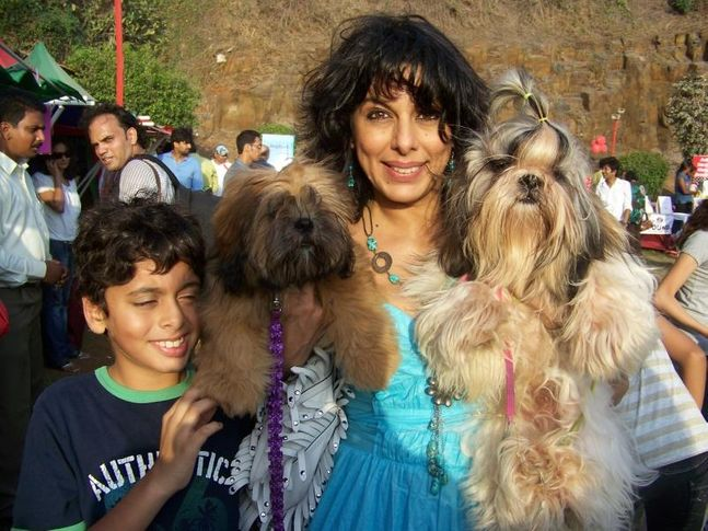 Pets and Owners,Pooja Bedi,, Dog A Fair May 2010, DogSpot.in