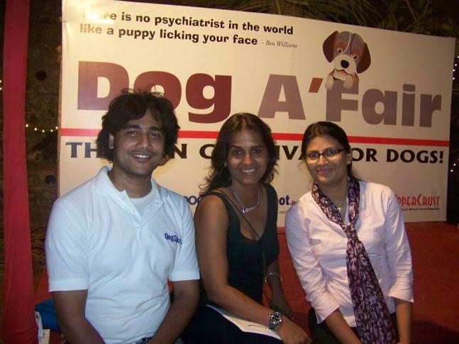 Ashwani Asthana,DogSpot,Farzana Contractor,Vizal,, Dog A Fair May 2010, DogSpot.in