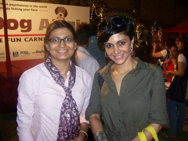 DogSpot,Mandira Bedi,Vizal,, Dog A Fair May 2010, DogSpot.in