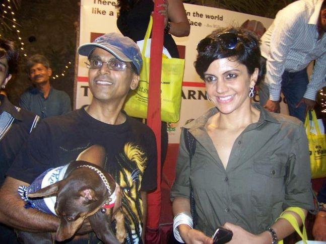 Fashion Show,Mandira Bedi,, Dog A Fair May 2010, DogSpot.in