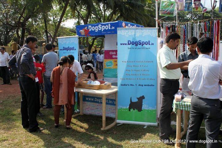 ground stalls,sw-63,, Goa 2012, DogSpot.in