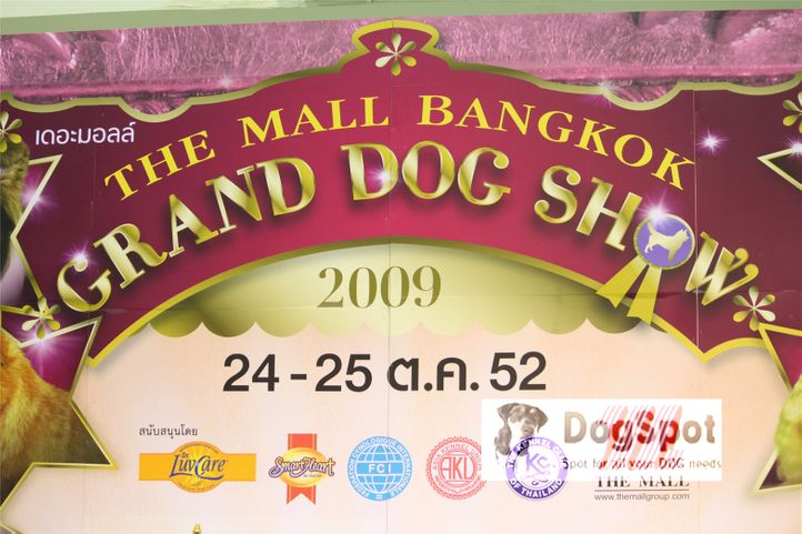 , Grand Show Thailand 2009, DogSpot.in