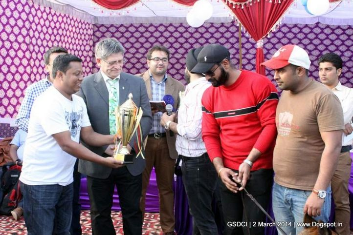 prize distribution,sw-119,, GSDCI 2014, DogSpot.in
