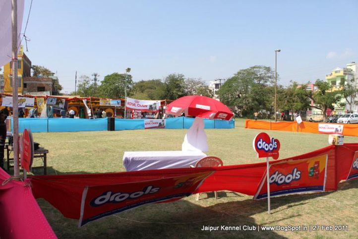 sw-34ground,stalls,, Jaipur Kennel Club, DogSpot.in