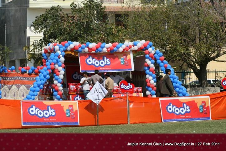 sw-34ground,stalls,, Jaipur Kennel Club, DogSpot.in