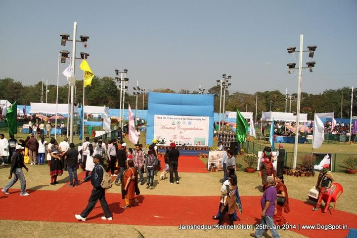 show ground,sw-114,, Jamshedpur Dog Show 2014, DogSpot.in