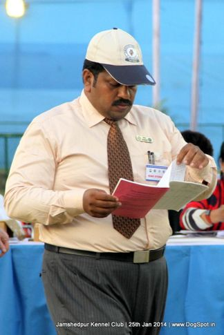 ring steward,sw-114,, Jamshedpur Dog Show 2014, DogSpot.in