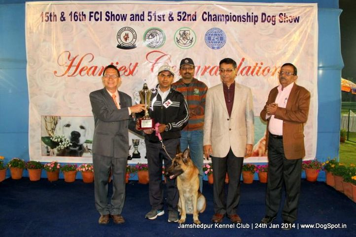 best in show,, Jamshedpur Obedience Dog Show 2014 , DogSpot.in