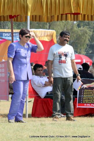 doberman,judges,ring steward,sw-43,, Lucknow Dog Show 2011, DogSpot.in
