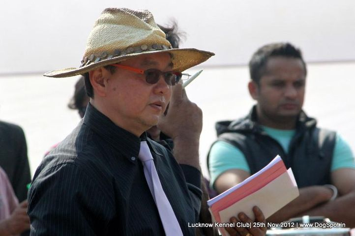judge,sw-71,, Lucknow Dog Show 2012, DogSpot.in