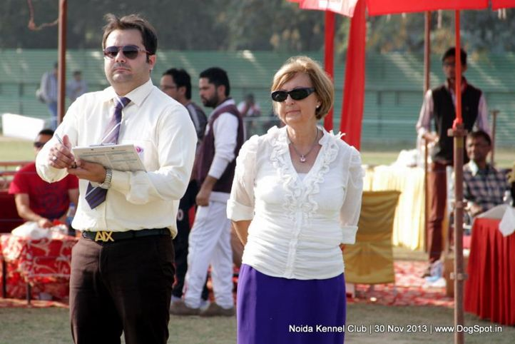 judge,people,ring steward,sw-99,, Noida Dog Show 2013, DogSpot.in