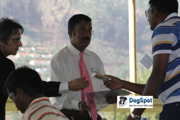 sw-18, judges,ring steward,, Ooty Dog Show 2010, DogSpot.in