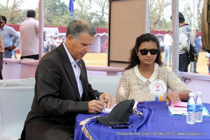 judge,people,ring steward,sw-104,, Orissa Dog Show 2013, DogSpot.in