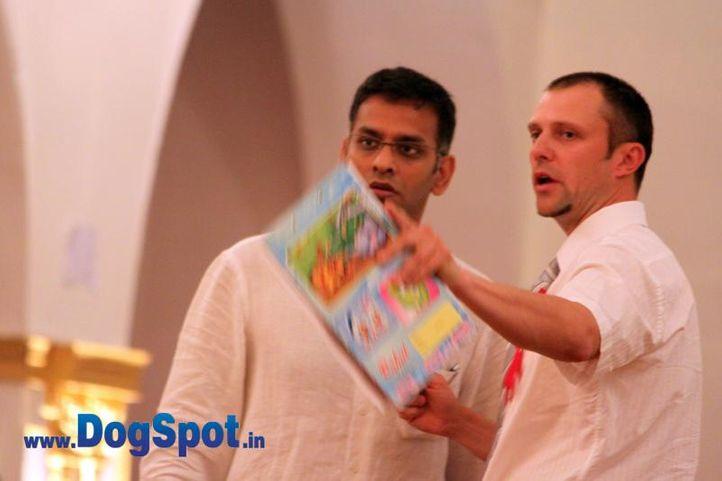 sw-36, delhi,gaurav malik,judges,ring steward,rottweiler,rottweiler speciality show,, Rottweiler Speciality 2011 April, DogSpot.in