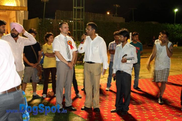 sw-36, delhi,gaurav malik,ring steward,rottweiler,rottweiler speciality show,, Rottweiler Speciality 2011 April, DogSpot.in